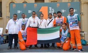 Emirati Marshals in Azerbaijan F1 & Confederations Cup
