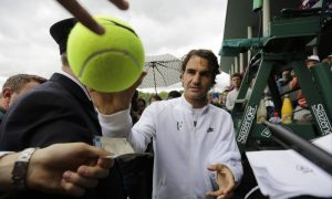 Roger Federer feels great about everything, even his injury
