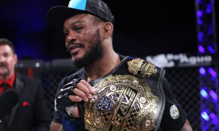New Champion Carlston Harris Explains 'Tour' of Brave Belt in Brazil