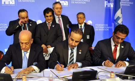 President of Qatar Swimming Association Elected in the Board of Directors of FINA