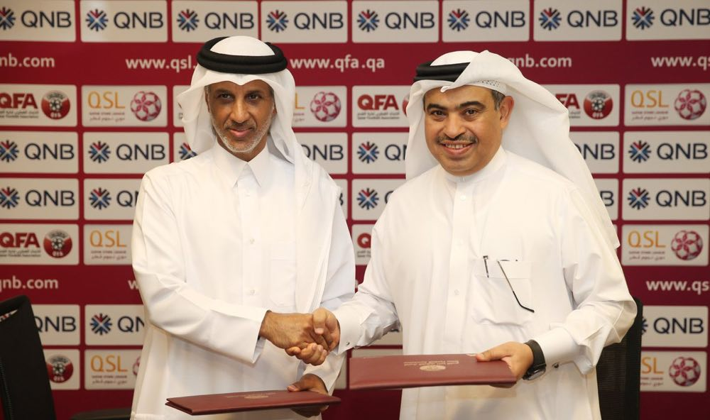 QNB Renews It's Sponsorship of Qatari Football Organizations For 6 seasons