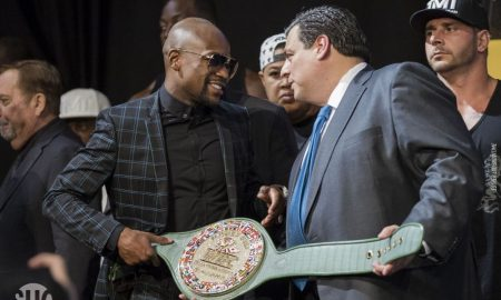Winner of Mayweather Vs. McGregor Fight to Receive 'Money Belt'