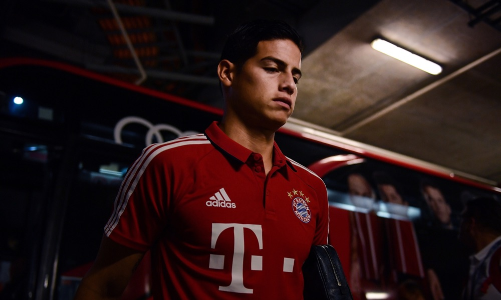 Bayern Munich's Move For James Rodriguez Revealed In Numbers. Player Earns £496,000 per month