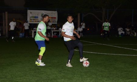 Barcelona And Madrid Enjoy Goal Fest At The Positive Soul Community Sports Initiative