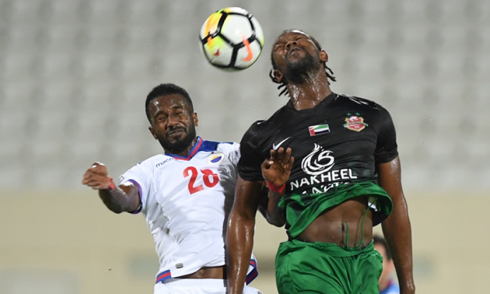 Sharjah and ShababAl Ahli Dubai Ends In A Draw