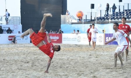 UAE Face Portugal In Their Opening Match Of The Beach Soccer Intercontinental Cup