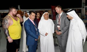 Dubai Muscle ShowA Huge Success With Ronnie Coleman And Jay CutlerWhich Was Attended By HE Mattar Al Tayer